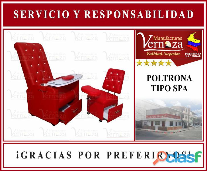 POLTRONA SPA DISPONIBLE EN CALI.