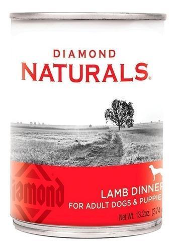 Alimento Lata Diamond Naturals Lamb Dinner Perros 13.2oz
