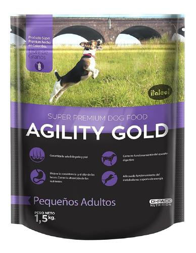 Alimento Para Perro -agility Gold Pequeños Adultos 1,5 Kg