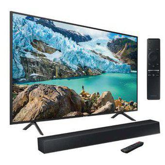 "Combo Samsung One Box: TV 55"" 4K Smart TV + Barra de Sonido"