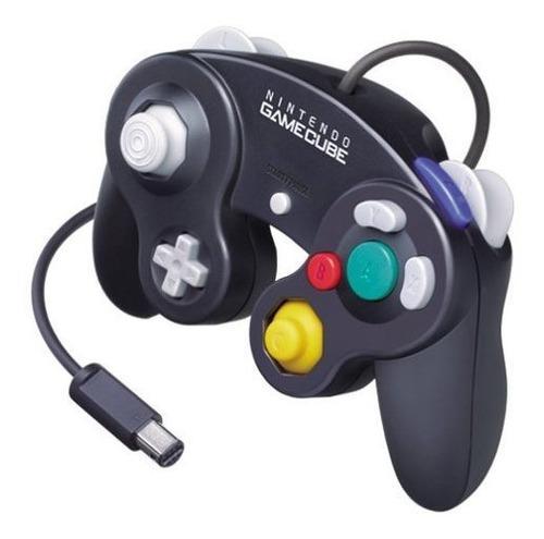 Controlador Negro Para Uso Exclusivo De Nintendo Gamecube