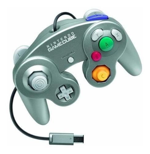 Controlador Oficial De Gamecube De Nintendo Classic Silver J