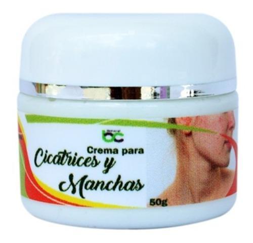 Crema para cicatrices, marcas de acne y manchas natural 50g