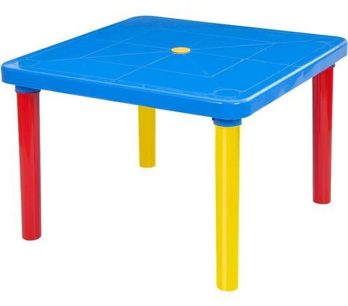 Mesa escritorio infantil plastica niños kids marca mq