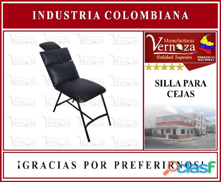 Silla para arreglo de cejas deseosas disponible en bucaramanga