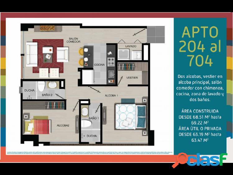 Proyecto apartamentos en bogota