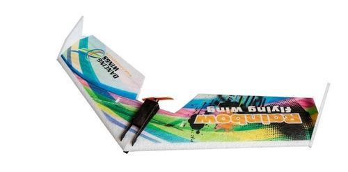 Avión ala delta rainbow v2 rc 800mm epp entrega inmediata!