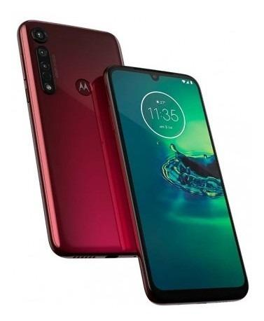 Celular Motorola G8 Plus 64gb Rojo Qualcomm Snapdragon Mk410