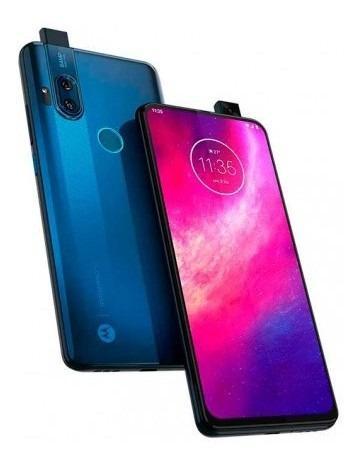 Celular Motorola One Hyper 128gb Azul Qualcomm Snapdra Lk292