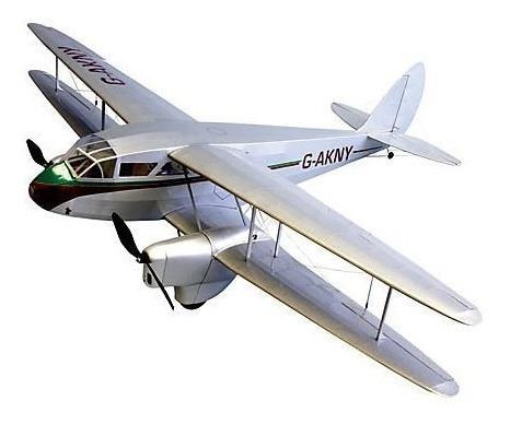 Dumas Dehavilland Dh89 Dragon Rapide Rc Airplane