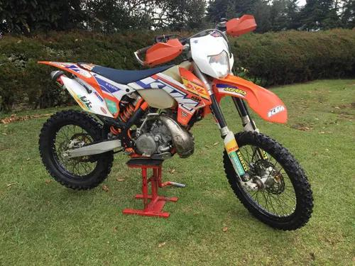 Ktm 200 exc 2 tiempos moto enduro 2015