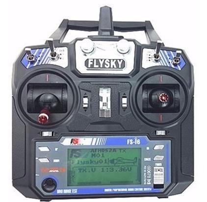 Radio control flysky fs-i6 2.4g 6ch rc drone aeromodelismo