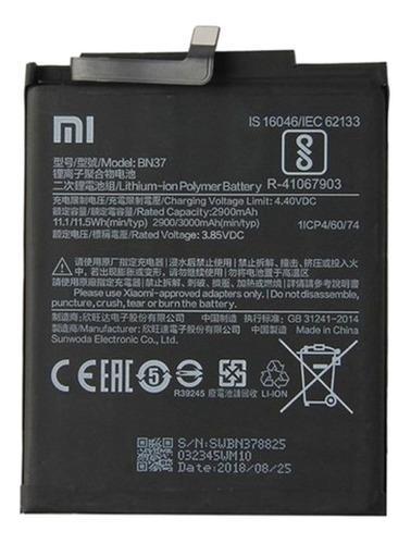 Bateria xiaomi redmi 6a bn37 / bogota centro / servicio tecn