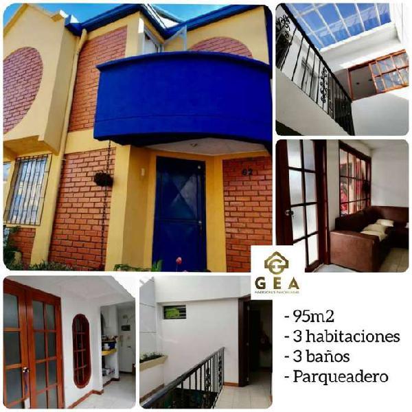 Gea vende casa remodelada en conjunto residencial asturias