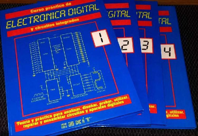 Libro cekit de 22 proyectos de electrónica digital y