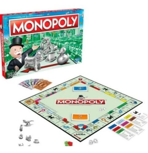 Monopoly original hasbro en español con envío