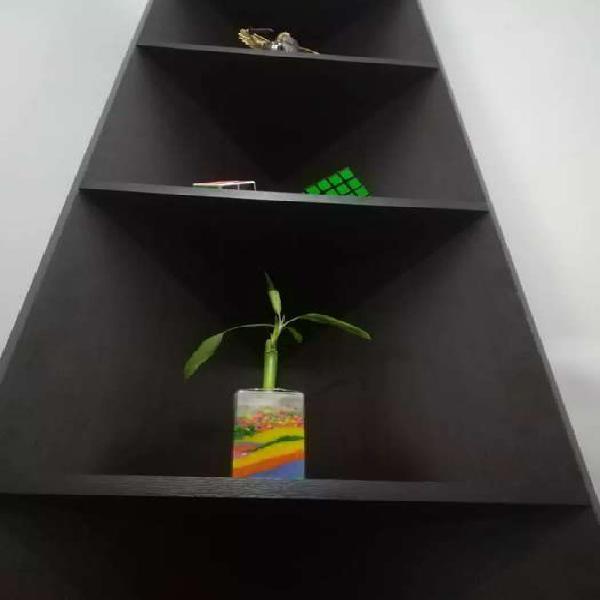 Organizador madera esquinero decorativo
