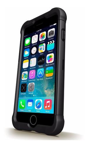 Protector para apple iphone 6 6s plus antishock 2mtrs 3 cap