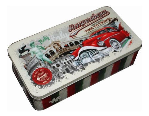 Rompecabezas italia,lata,vintage 1000 piezas 11445 ronda