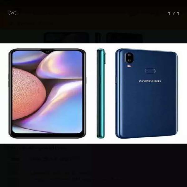 Samsung galaxy a10s azul nuevo