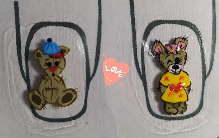 Sticker hechos a mano