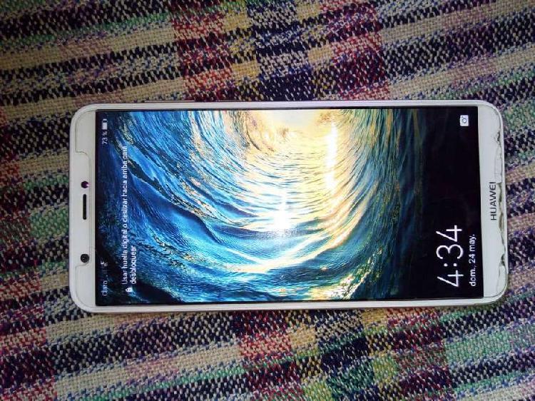 Vendo celular huawei p smart 2018 casi nuevo esta en