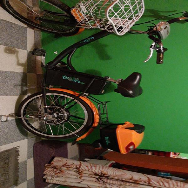 Vendo espectacular bicicleta electrica