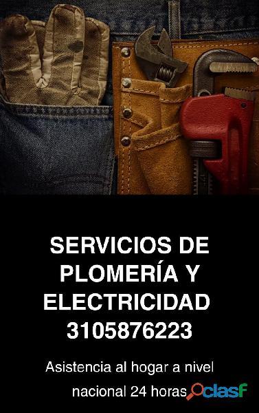 Servicio de plomeria 24/7 (3105876223)