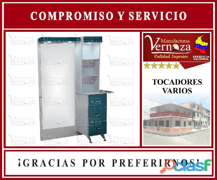 TOCADOR PARA BARBERIA ESPECIAL SOMOS MANUFACTURAS VERNAZA