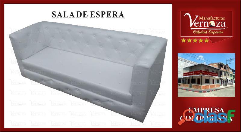 10 SALA DE ESPERA CAPITONEADA CON BODEGA EN CUEROTEX