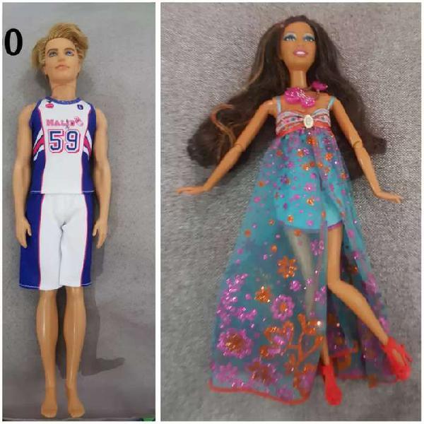 2 barbie y ken