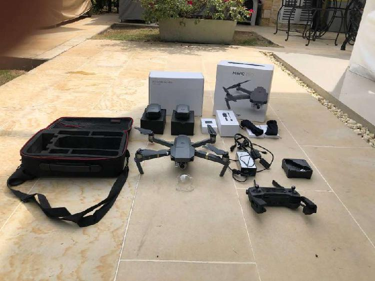 Drone con pocas horas de uso