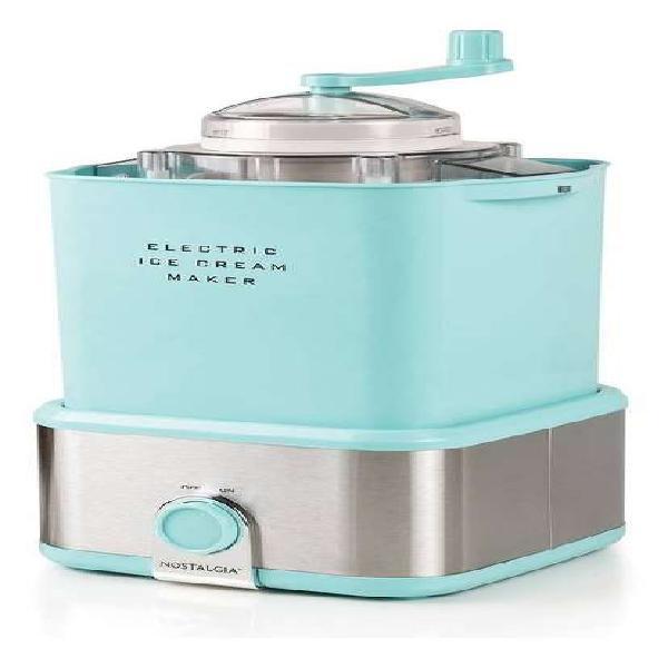 Maquina para hacer helados nostalgia tritura dulces.