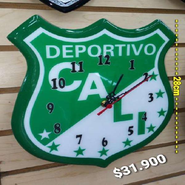 Reloj pared deportivo cali 28 cm alto