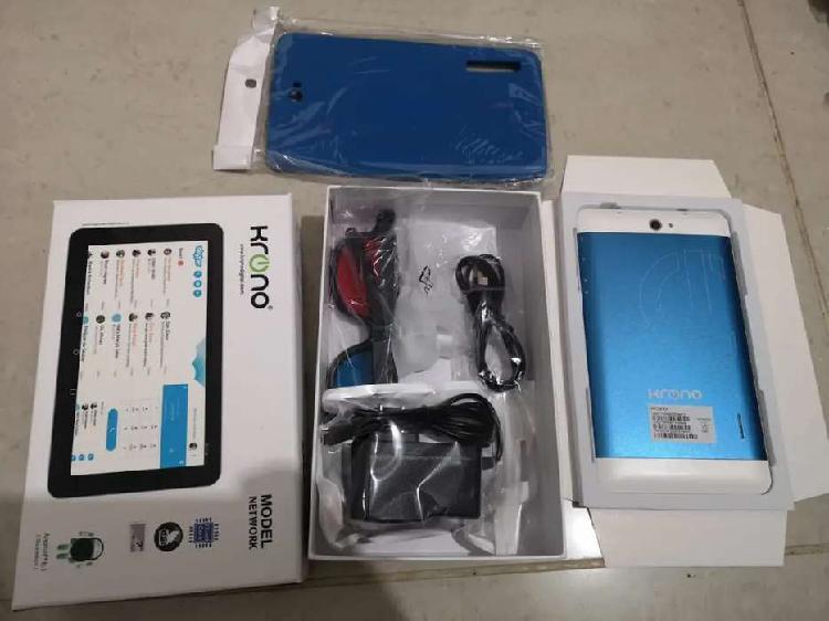 Tablet 7 pulgadas con sim card, varios accesorios
