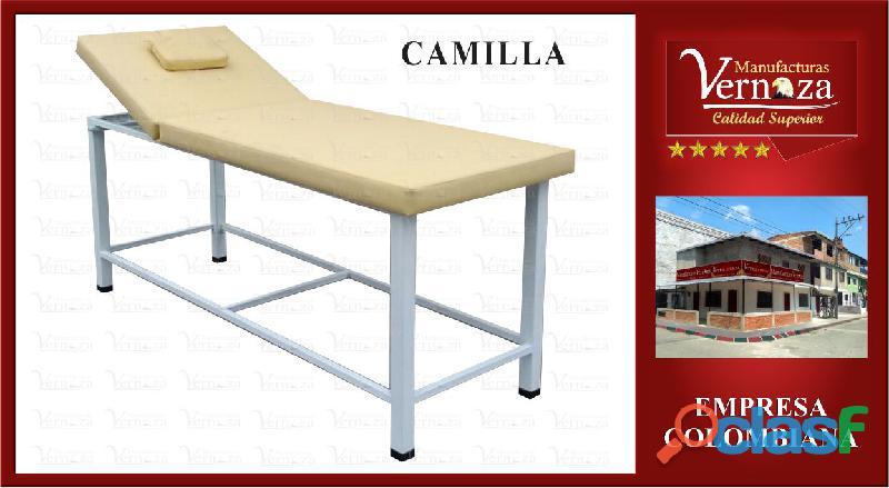 Camilla en madera para masajes de excelente calidad