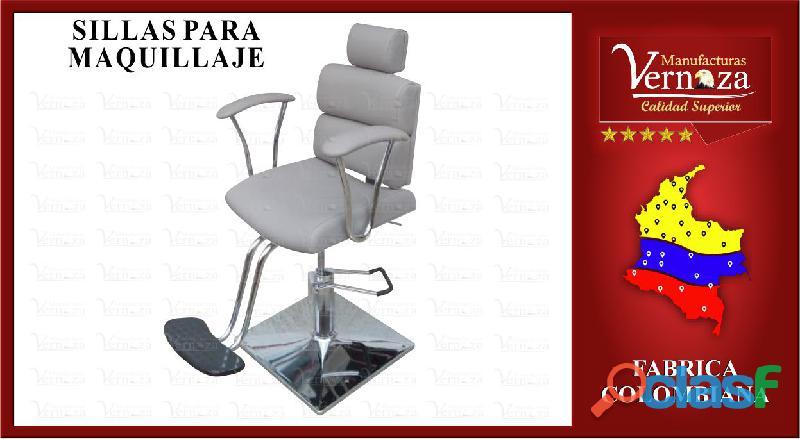 17 silla de maquillaje, super confortable