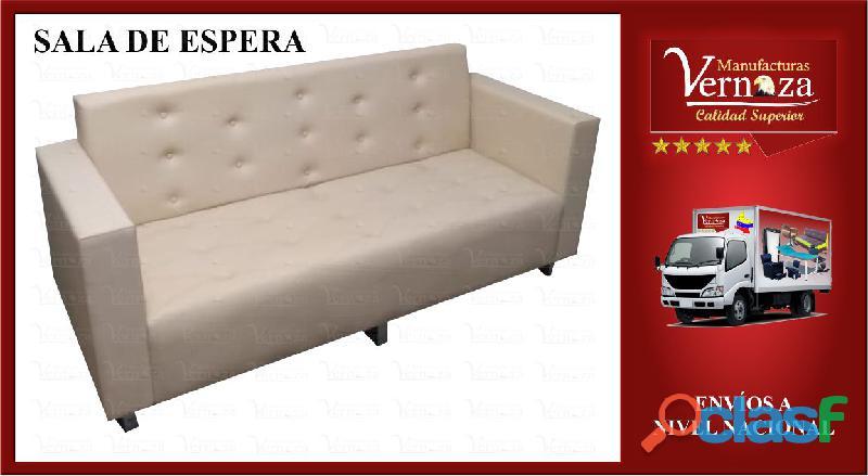 9 sala de espera tipo sofa en triplex