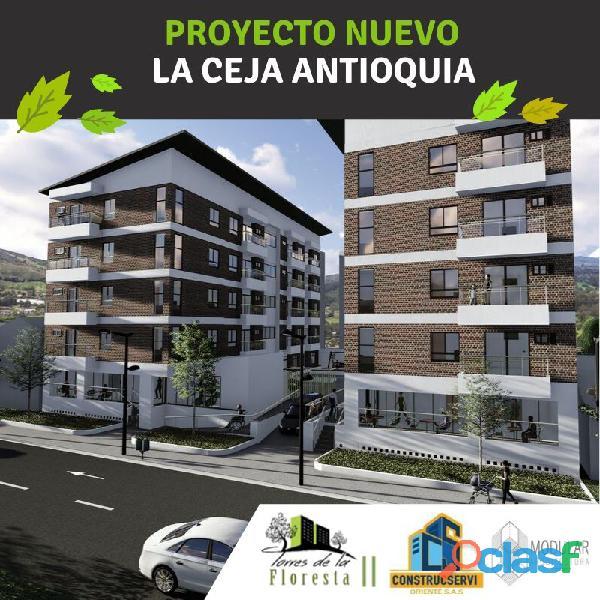 Torres de la floresta II. Venta de Apartamentos y Locales Comerciales en La Ceja, Antioquia