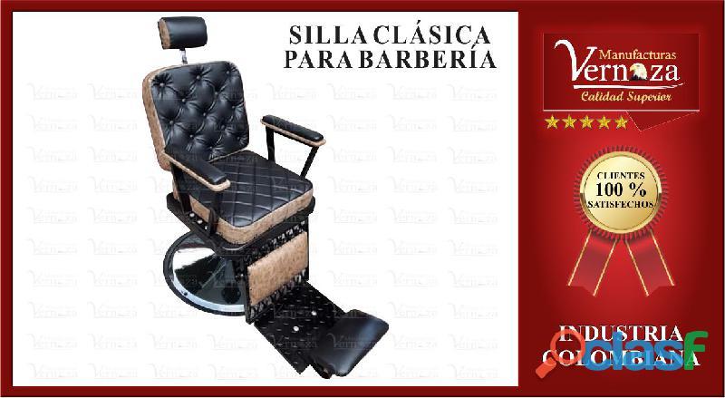 17 silla de barberia deseosa, con cala pies en color negro y más
