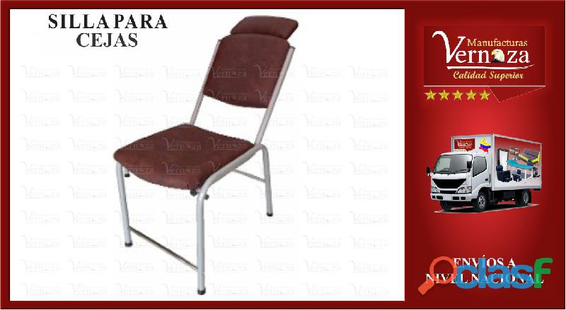 18 comoda silla para arreglo de cejas o el uso que mas desees
