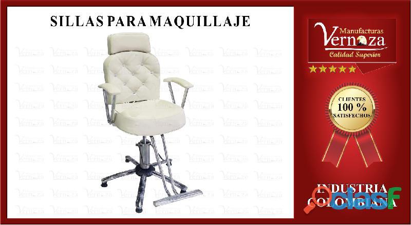 18 silla de maquillaje, elegancia para tu distinguida clientela