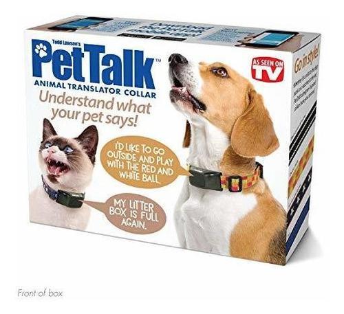 Caja de broma para regalo con diseño de collar traductor pa
