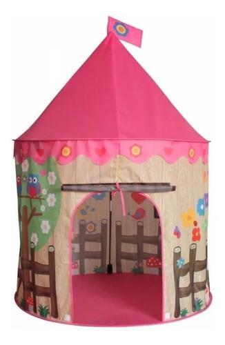 Carpa castillo princesa del bosque niña jardín + 50