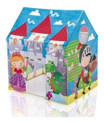 Casa carpa intex 45642 castillo medieval niño niña camping