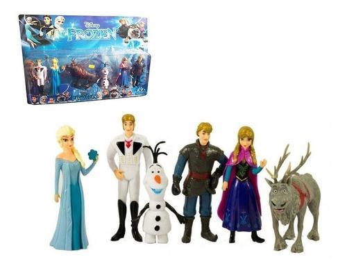 Frozen figuras muñecas juguete colección jugueteria juegos