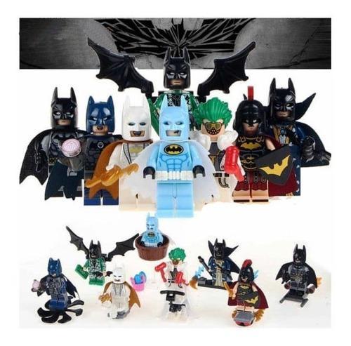 Lego batman juguete didáctico figuras x8 juguetería