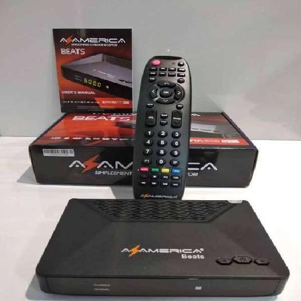 Receptor satelital tv libre azamerica beats hd dual tuner