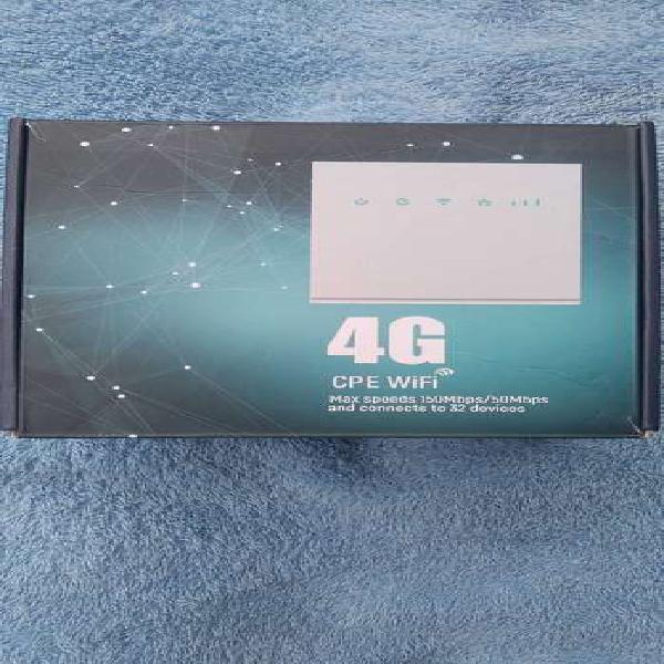 Router modem h3s 4g lte nuevo color blanco