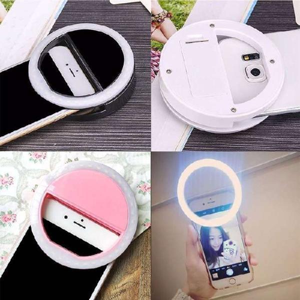Selfie anillo de luz led para celulares...